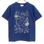 TF7225 ガーデンイラストTシャツ 2,400円
