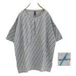TF7380 バイアスローププリントTシャツ 2,400円