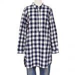 S47574 スキッパーチュニックシャツ 5,900円