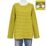 S57606 ミラノリブボーダーTシャツ 3,400円