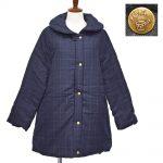 P67512 ショールカラー中綿コート 7,900円