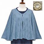 P98112 木の編み柄ケープ 3,400円