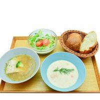 2種のあったかスープセット800円[税込]