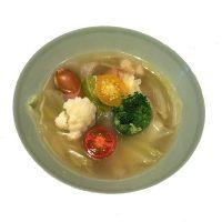 ■季節のスープ■春キャベツとデンマークソーセージのスープ