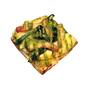 【旬の食材パン】筍とアスパラのタルティーヌ175円