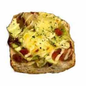 ■季節のパン■キャベツと塩だれチキンのタルティーヌ175円