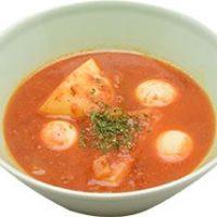 ■サラダセットのスープ■イースターエッグとポテトのトマト煮込みスープ