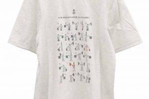 TF8472 手旗信号一覧表Tシャツ 2,400円