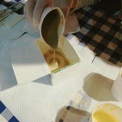 オリーブオイル石けん作り