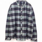 TD8842 ネルチェックギャザーシャツ 3,900円