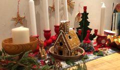 ジンジャークッキーお菓子の家