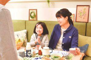 1_家族と特別な朝食
