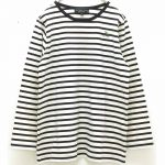 TU9155 春のアクティブ刺繍Tシャツ 2,900円