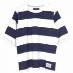 T69278 ワイドボーダーTシャツ 2,400円