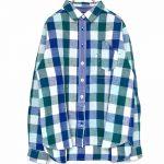 TJ9238 異素材使いワークシャツ 4,900円