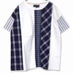 TF9282 パッチ&ステッチワークTシャツ 2,900円