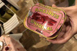 スウェーデンのアンチョビ