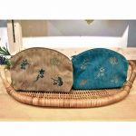 P79660 花と野菜刺繍ポーチ 1,200円