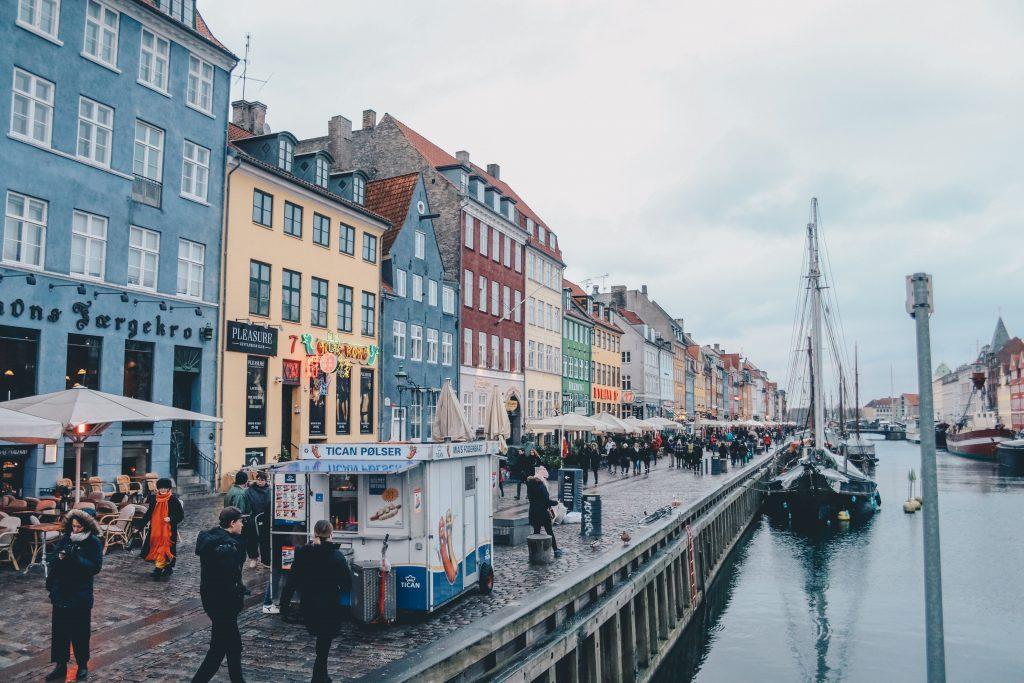 デンマーク街並み