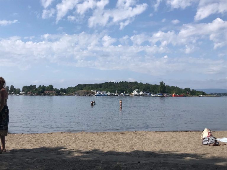 ノルウェー砂浜ビーチ