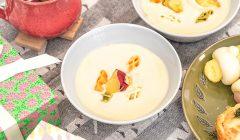 サツマイモとクリームチーズのスープ2019冬
