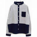 TJ9882 クレイジーパターンシャツ 3,900円