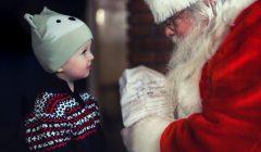 サンタさんとこども