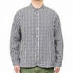 SD0133-M リネンレーヨン刺繍入りシャツ(メンズ) 5,400円