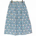 PD0391 紫陽花柄プリントスカート 3,900円