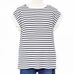 SK0494 リネン袖ワイドリブTシャツ 2,900円