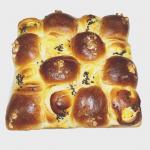 芋と栗のちぎりパン