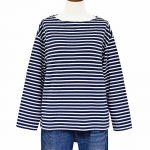 SB1072 コットン接結ボートネックTシャツ 3,400円