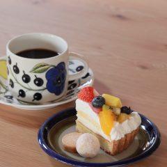 焼き菓子工房のケーキセット
